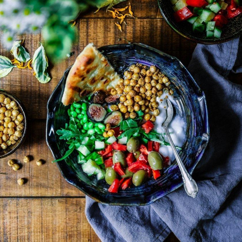 vegetariska proteinkällor