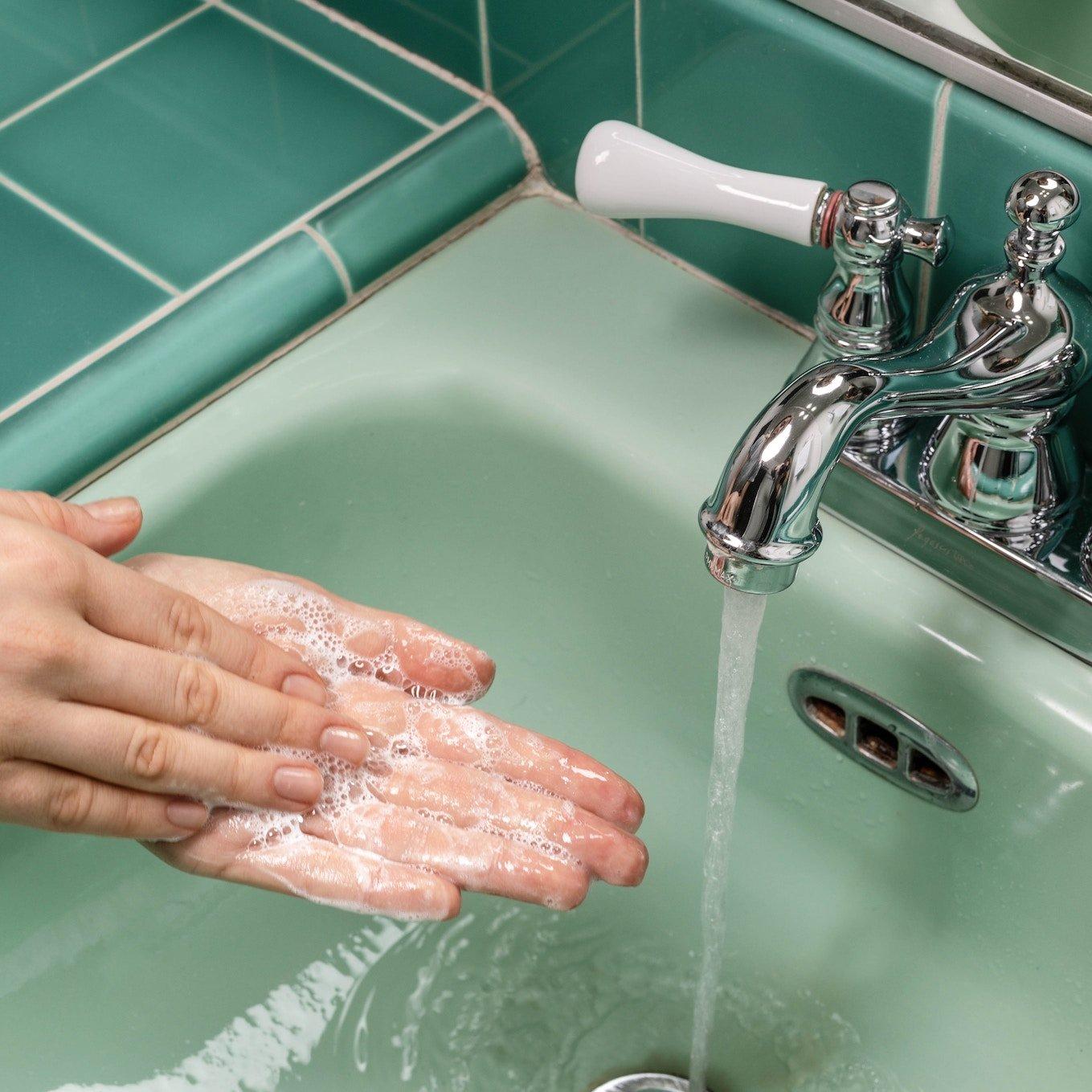 Hygien tvätta händer
