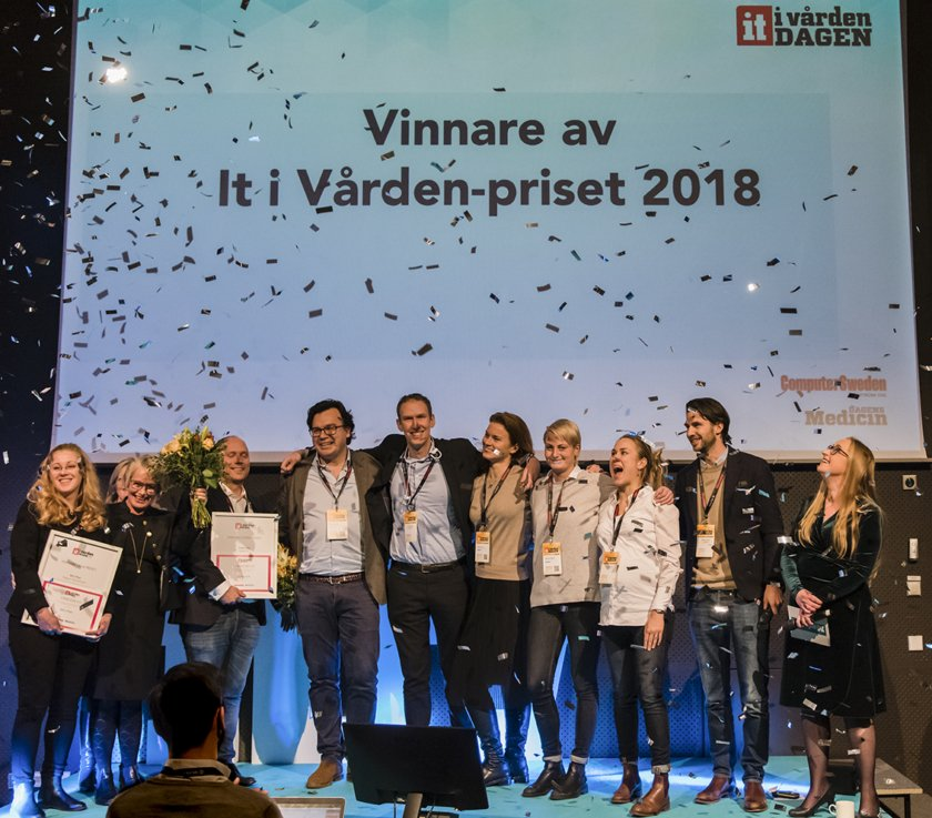 Vinnare av it i vården-priset 2018 – Doktor24