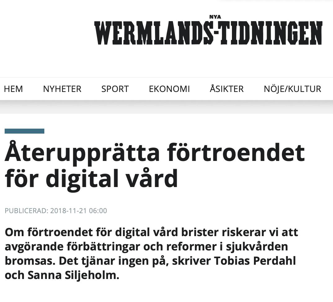 Doktor24 i Wermlandstidningen