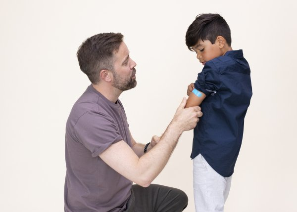 Vaccinera ditt barn mot vattkoppor